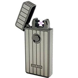 プラズマライター 《シルバーストライプ》 プラズマライター おしゃれ かっこいい メンズ USBライター【smtb-KD】[定形外郵便、送料無料、代引不可]