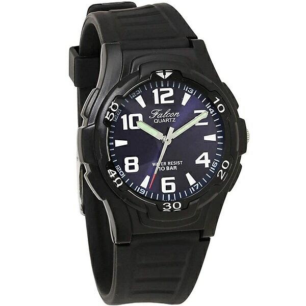 シチズン/CITIZEN Q&Q 腕時計 Falcon (フォルコン) アナログ表示 スポーツタイプ 10気圧防水 ブルー VP84J850 メンズ 【YDKG-kd】【smtb-KD】[時計][ギフト][定形外郵便、送料無料、代引不可]