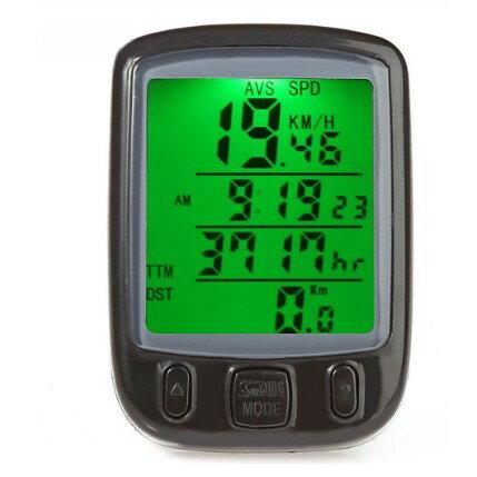 有線 サイクルコンピュータ SD-563A 自転車 距離 計測 サイクルメーター 防水 サイコン[メール便発送、送料無料、代引不可]【YDKG-kd】【smtb-KD】[自転車用品]