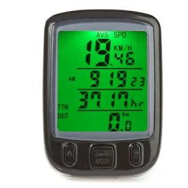 有線 サイクルコンピュータ SD-563A 自転車 距離 計測 サイクルメーター 防水 サイコン【smtb-KD】[自転車用品][定形外郵便、送料無料、代引不可]