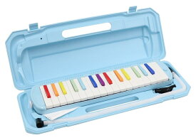 KC 鍵盤ハーモニカ (メロディーピアノ) 虹色(レインボー) P3001-32K/NIJI【YDKG-kd】[楽器][送料無料(一部地域を除く)]