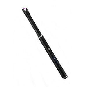 残量LED表示 完全防風 アークプラズマライター USBライター 充電式【smtb-KD】[定形外郵便、送料無料、代引不可]