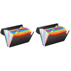 A4ファイルボックス 《2個セット》 書類ケース ドキュメントスタンド ファイルボックス[送料無料(一部地域を除く)]