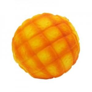 スクイーズ メロンパン 香り付き 10cm リアルサイズ 低反発 パン PUPAN[メール便発送、
