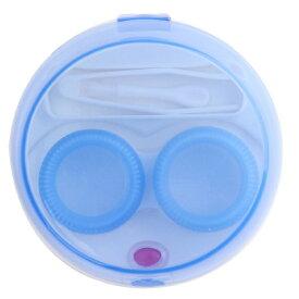 携帯用 コンタクトレンズクリーナー 《ブルー》 洗浄器 クリーナー カラコン ソフト ハード【smtb-KD】[定形外郵便、送料無料、代引不可]