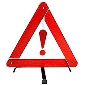 車用 警告反射板セキュリティ 二次災害 三角表示 カー用品 緊急 反射板 組立 収納BOX付き[送料無料(一部地域を除く)]