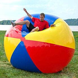 超 巨大 ビーチボール 直径2m ビーチ バレー ボール 特大 ジャイアント 浮き輪[送料無料(一部地域を除く)]