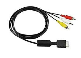 PS1 PS2 PS3 対応 AVコンポジットケーブル 約175cm 赤白黄 映像 ケーブル【smtb-KD】[定形外郵便、送料無料、代引不可]