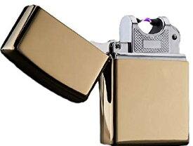 USB充電式 スパークライター 2043 《ゴールド》 アーク放電 プラズマライター ジッポータイプ【YDKG-kd】【smtb-KD】[ゆうパケット発送、送料無料、代引不可]