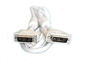 シングルリンク DVI-Dケーブル 24(18)pin 白コード 1.5m【smtb-KD】[ケーブル類]【中古】[ゆうパケット発送、送料無料、代引不可]