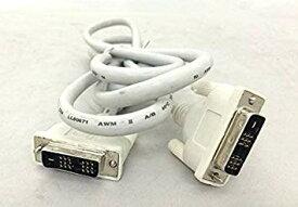 【未使用】シングルリンク DVI-Dケーブル 24(18)pin ホワイト 1.8m【smtb-KD】[ケーブル類][ゆうパケット発送、送料無料、代引不可]