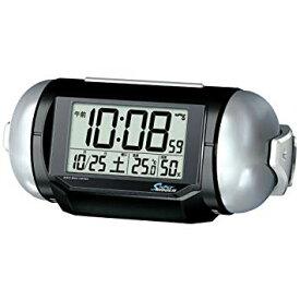 大音量デジタル電波目ざまし時計カレンダー温湿度表示機能付スーパーライデン NR523K [時計][ギフト][送料無料(一部地域を除く)]