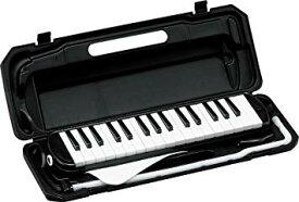 KYORITSU メロディーピアノ(ブラック) P3001-32K/BK ケース付【YDKG-kd】 [楽器][送料無料(一部地域を除く)]