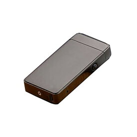 USB充電 スイッチ式 プラズマライター 《ブラック》 アーク放電【YDKG-kd】【smtb-KD】[定形外郵便、送料無料、代引不可]