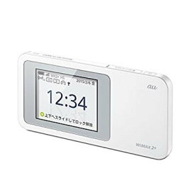 au版 Speed Wi-Fi NEXT W01 HWD31SWA ホワイト【smtb-KD】[ルータ]【中古】[ゆうパケット発送、送料無料、代引不可]