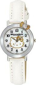 シチズン/CITIZEN Q&Q 腕時計 Hello Kitty (ハローキティ) アナログ ホワイト VW23-131 レディース【smtb-KD】[バレンタイン][時計][ギフト][定形外郵便、送料無料、代引不可]