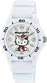 シチズン キューアンドキュー/CITIZEN Q&Q 腕時計 Hello Kitty (ハローキティ) アナログ 10BAR ホワイト VQ75-431 レディース[バレンタイン][時計][ギフト] 【smtb-KD】[定形外郵便、送料無料、代引不可]