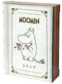 MOOMIN ムーミン トランプ アンティークケース入り【smtb-KD】[玩具][ゆうパケット発送、送料無料、代引不可]