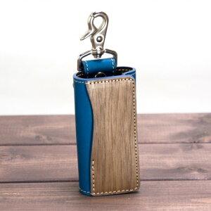 VARCO REAL WOOD キーカバーsk 本革 革 レザー 革製 木製 日本製 かわいい キーケース スマートキー キーカバー キーレス メンズ レディース ブランド ギフト キーレス ストラップ
