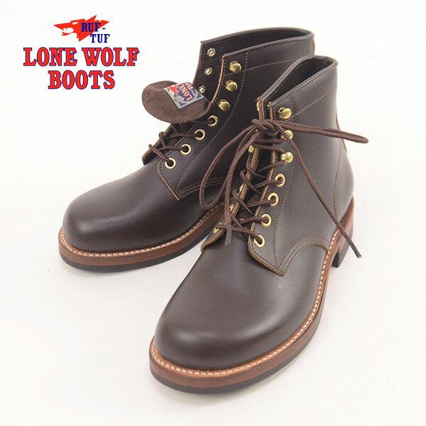 【送料無料】LONE WOLF ロンウルフ ローンウルフ ブーツ CAT'S PAW SOLE『MECHANIC(メカニック)』LW00450-139DBR 靴 ブーツ 東洋エンタープライズ LONE WOLF ロンウルフ ローンウルフ メンズ 男性