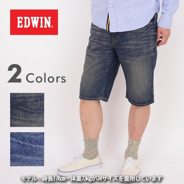 EDWIN エドウィン KS0026[a6s]403XV REGULAR SHORTS レギュラー ショートパンツ【3】