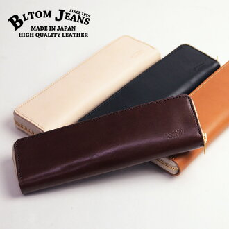 Himeji leather made in BLTOM bulldog Tom B-1111[r7s]iQOS Aiko's genuine leather round case Japan