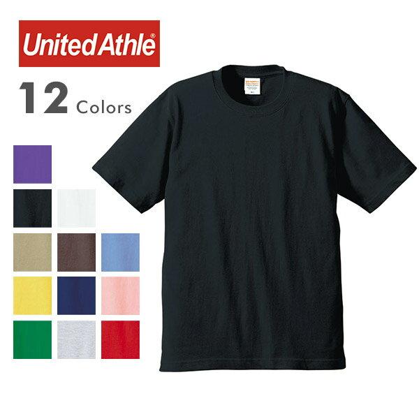 United Athle ユナイテッドアスレ 5942-01 6.2オンス プレミアム Tシャツ 無地 半袖 メンズ 男性 ユニセックス 女性も着れる