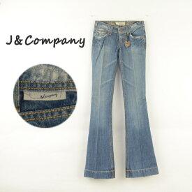 J&Company ジェイアンドカンパニー C1175BDX レディースジーンズ デニム フレアー ブーツカット