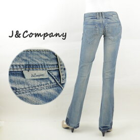 J&Company ジェイアンドカンパニー C1225HD レディースジーンズ デニム フレアー ブーツカット