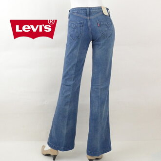 There is Levis jeans Levi's F3356 Saddle Stitch saddle stitch design pocket flare denim bootcut jeans Lady's woman brand reason ant reason existence stock disposal Lady's fashion bottoms underwear 40s hemming reason