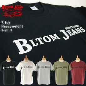 BLTOM ブルトム B-102 Authentic Super Heavyweight 7.1oz T-shirt メンズファッション トップス Tシャツ カットソー 40代 送料無料