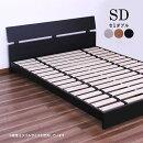 セミダブルベッドローベッドフロアベッドベッドベットすのこベッドベッドフレーム木製シンプルモダン送料無料