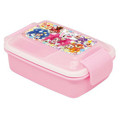 ランチグッズキラキラ☆プリキュアアラモードドームタイトランチボックス 450ml【電子レンジOK】【食洗器OK】