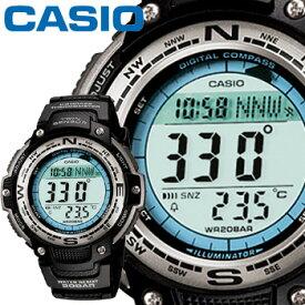 cf7b3534ab カシオ スポーツギア スポーツウオッチ 100J 樹脂バンド 方位・温度計測機能搭載 CASIO SPORTS