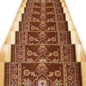 ベルギー製高級階段マット(13枚組)ベージュ
