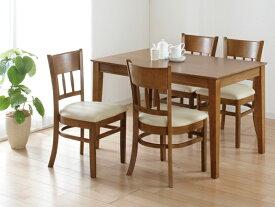 ダイニングテーブル マーチ W115×D75 4人用 ライトブラウン (テーブル単品) クロシオ 4127