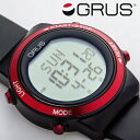 GRUS 歩幅が測れる ウォーキングウォッチ 全日本ノルディック・ウオーキング連盟公認 グルスサポートギア ウオッチ 万歩計 腕時計 男女兼用 ランキングお取り寄せ