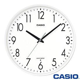 カシオ ウェーブセプター 壁掛け電波時計 1070J (ホワイト) 電波時計 日本全国対応 2017年-2018年モデル