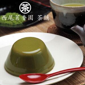 老舗お茶屋さんの京都宇治 抹茶プリン 8缶 セット 西尾茗香園茶舗 プリン 缶詰