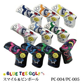 ブルーティーゴルフ 72&ハートパターカバー PC-004 PC-005BTG-PC004 BTG-PC005 BTG Blue tea golf ゴルフ用品