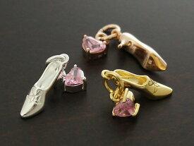 【Fairy Tale】【銀の靴】 Silver925/CZ チャーム・ペンダントトップ