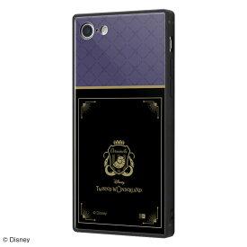 ディズニー iPhone SE(第2世代)/8/7 ハイブリッド ケース カバー ツイステッドワンダーランド/耐衝撃ケース KAKU トリプルハイブリッド/『ツイステッドワンダーランド/オクタヴィネル寮』 IQ-DP7K3B/DG017