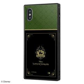 ディズニー iPhone XS/X ハイブリッド ケース カバー ツイステッドワンダーランド/耐衝撃ケース KAKU トリプルハイブリッド/『ツイステッドワンダーランド/ディアソムニア寮』 IQ-DP20K3B/DG021
