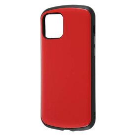 iPhone12 ケース iPhone 12 Pro カバー 12Pro ハイブリッド 耐衝撃 ケース ProCa [ ストラップ ホール 付き ] 防塵加工 傷に強い Qi充電対応/レッド + ガラスフィルム 10H 光沢 ソーダガラス DF-P27AC3R/SCG iPhone12 iPhone12 Pro iPhone12Pro アイフォン12 プロ