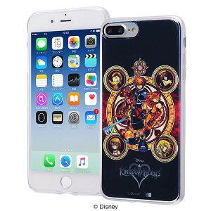 ディズニー iPhone 8 Plus/7 Plus ハイブリッド ケース カバー 耐衝撃 衝撃吸収 [ TPUケース+背面パネル 着せ替え可能 ] 軽量 『キングダムハーツ』_6 IJ-DP7PTP/KH006