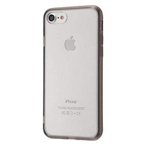 iPhone SE(第2世代)/8/7 ハイブリッド ケース カバー 耐衝撃 衝撃吸収 [ ソフト×ハード ハイブリッド ] ブラック RT-P12CC2/B