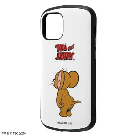 iPhone12 mini ケース iPhone 12 mini カバー 『トムとジェリー』 耐衝撃 ケース MiA 衝撃吸収 [ ストラップ ホール 付き ] 防塵加工 傷に強い 『ジェリー/スタンダード』 iPhone12 mini iPhone12mini アイフォン12 ミニ