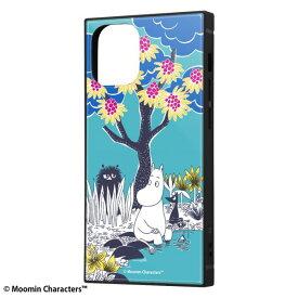 iPhone12 mini ケース iPhone 12 mini カバー ムーミン 耐衝撃 ハイブリッド ケース KAKU [ ストラップ ホール 付き ] スクエア 軽量 /コミック_2 iPhone12 mini iPhone12mini アイフォン12 ミニ