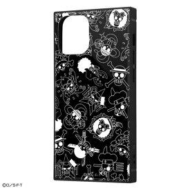 iPhone12 mini ケース iPhone 12 mini カバー ワンピース 耐衝撃 ハイブリッド ケース KAKU [ ストラップ ホール 付き ] スクエア 軽量 /海賊旗マーク iPhone12 mini iPhone12mini アイフォン12 ミニ