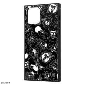 iPhone12 ケース iPhone 12 Pro カバー 12Pro ワンピース 耐衝撃 ハイブリッド ケース KAKU [ ストラップ ホール 付き ] スクエア 軽量 /海賊旗マーク iPhone12 iPhone12 Pro iPhone12Pro アイフォン12 プロ
